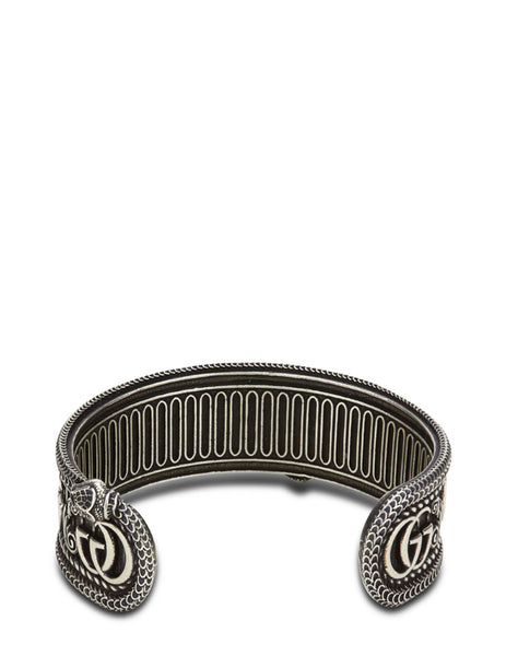 Gucci Men's Giulio Fashion Silver Double G Cuff 577296