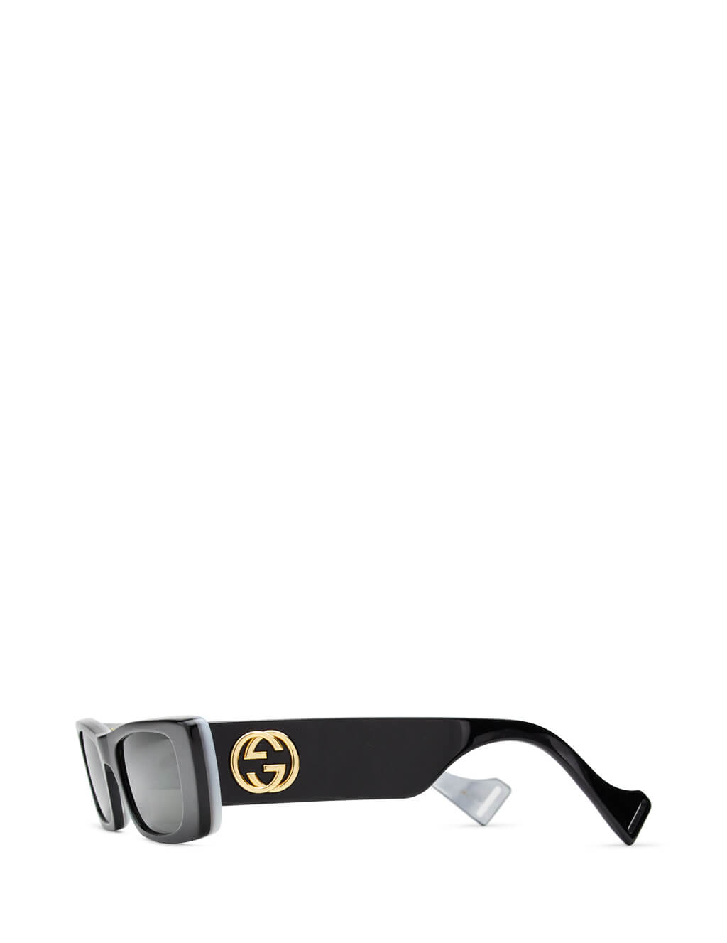 Gucci Women's Black Rectangular Sunglasses GG 0516/S 001