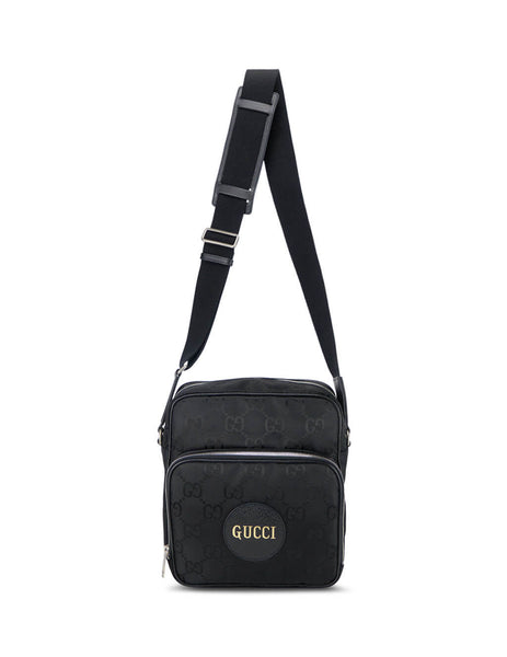 Gucci Men's Black Flight Bag 625858 H9HBN 1000