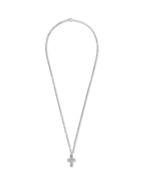 Gucci Men's Giulio Fashion Silver G Cross Necklace 576994