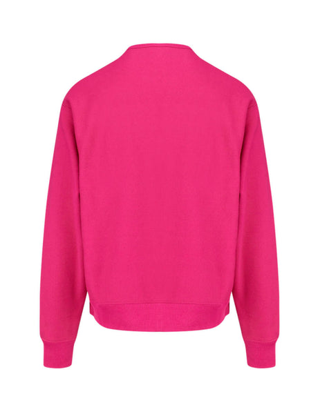 Gucci Men's Giulio Fashion Bright Fuchsia Gucci Band Sweatshirt 563972XJB275092