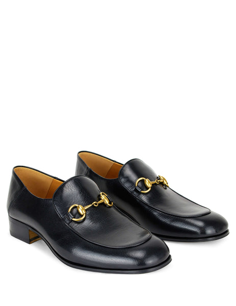 Gucci Men's Giulio Fashion Black Horsebit Leather Loafers 526297D3V001000