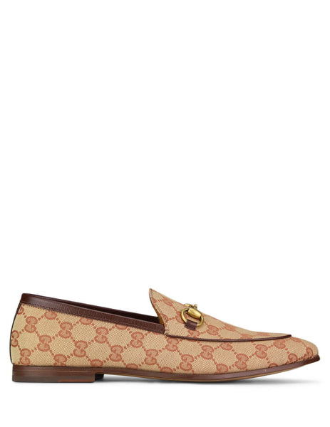 Gucci Men's Giulio Fashion Beige Jordaan GG Canvas Loafer 4300889Y9W08369