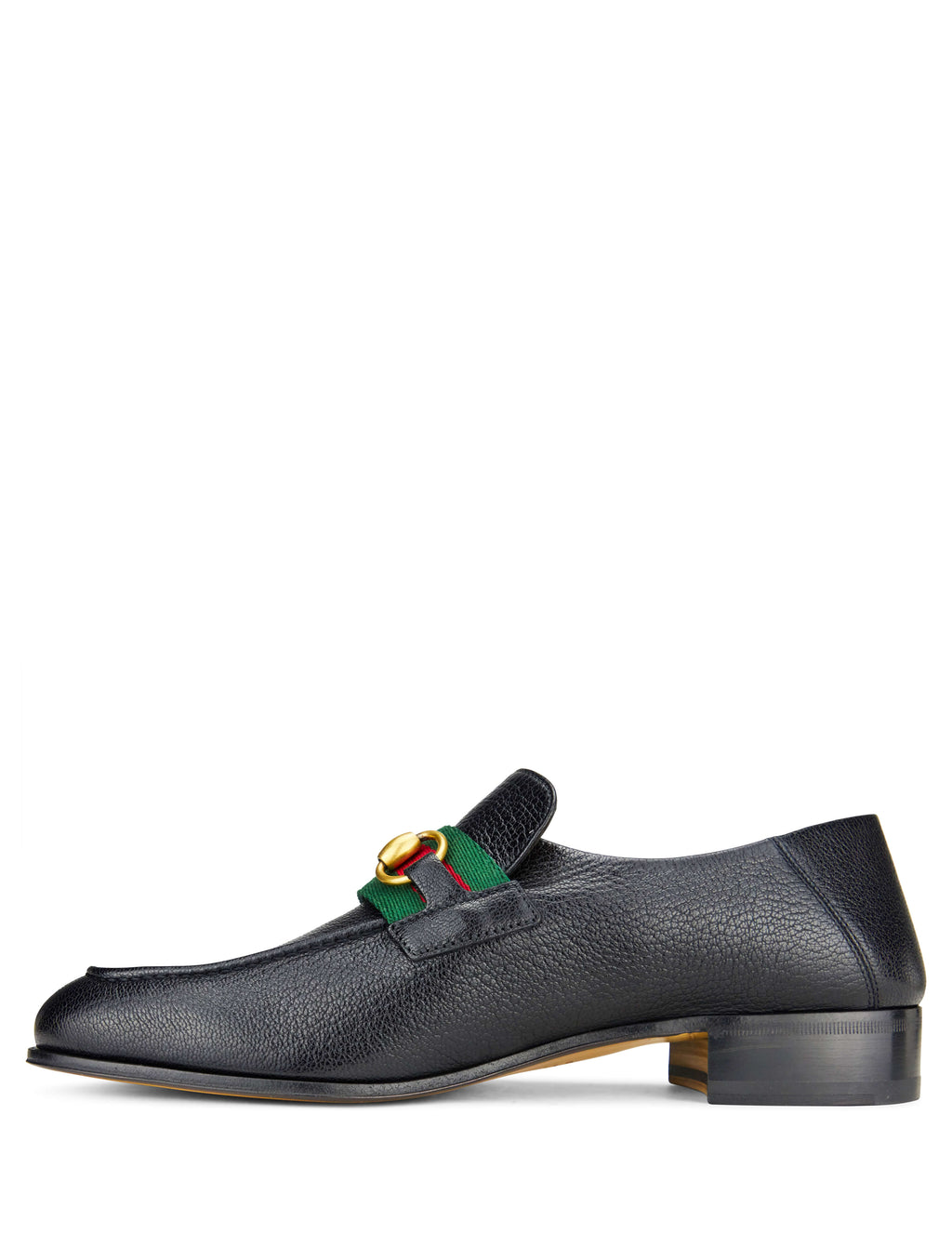 Gucci Men's Giulio Fashion Black Leather Horsebit Loafers 5452770YL101060
