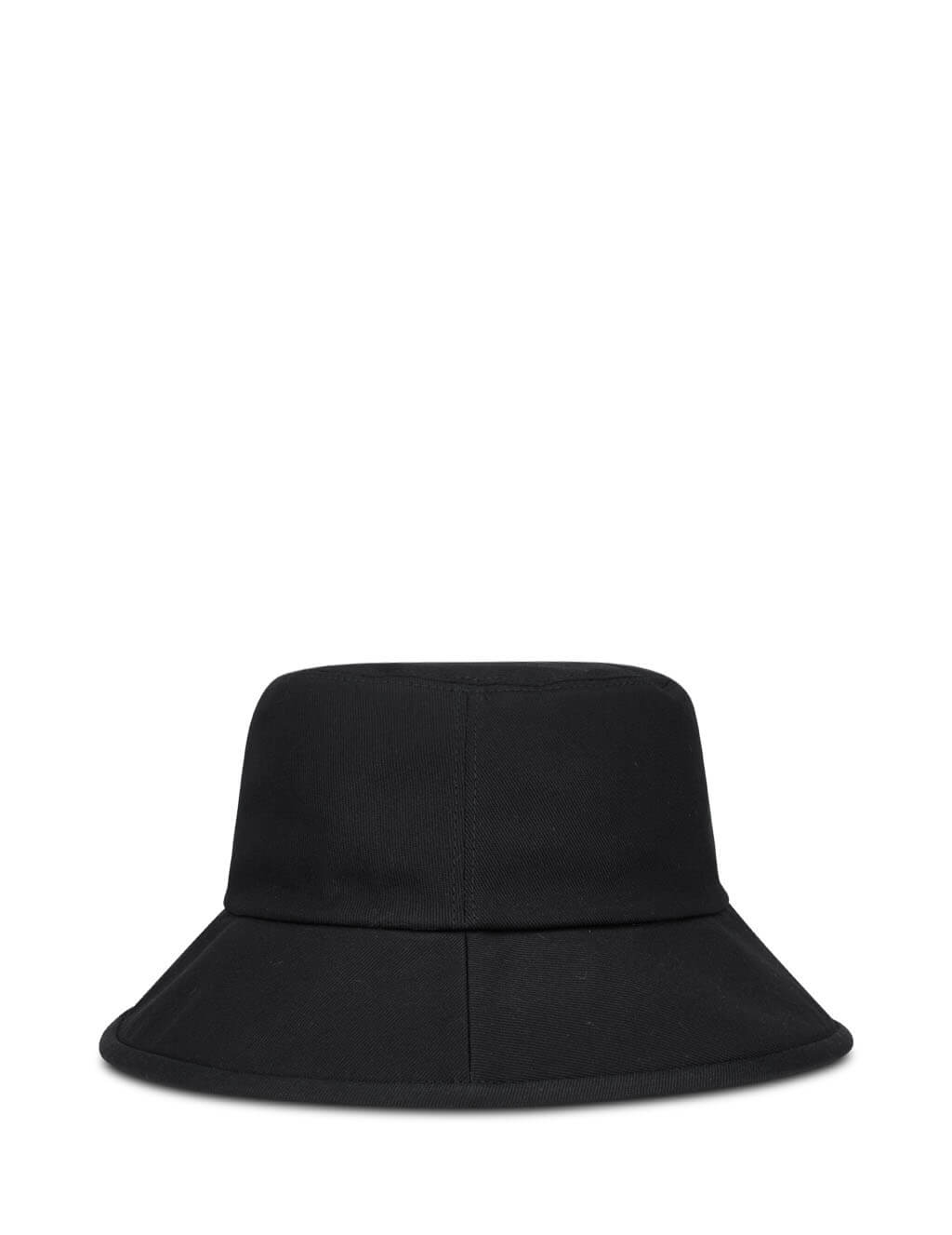 Gucci Men's Black Logo Patch Fedora 627174 4HK02 1000