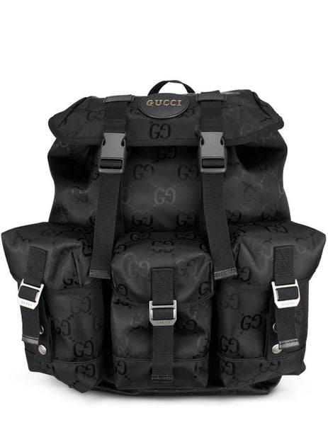 Gucci Men's Black Off The Grid Backpack 626160 H9HFN 1000