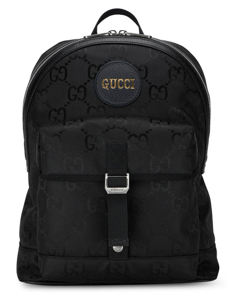 Men's Gucci Off The Grid Backpack in Black - 644992H9HON1000
