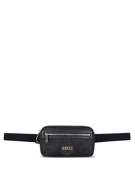 Gucci Men's Black Off The Grid Belt Bag 631341 H9HBN 1000