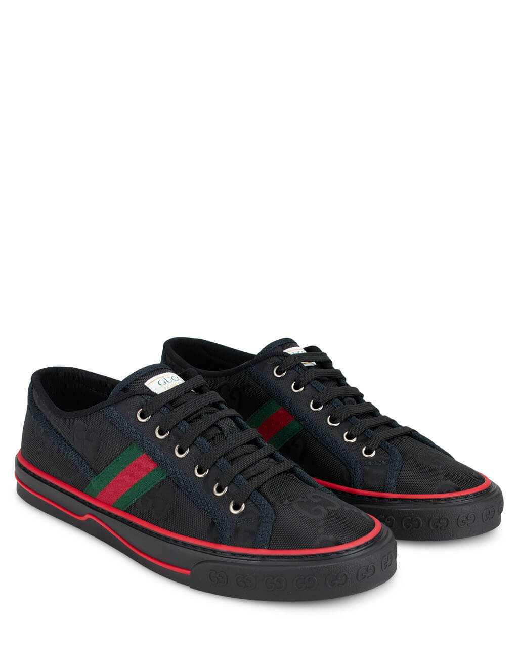 Gucci Men's Black Off The Grid Sneakers 628709 H9H70 1072