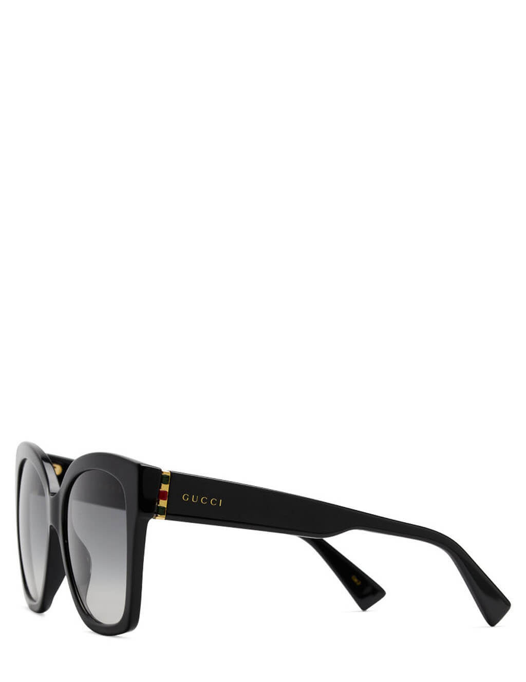 Women's Gucci Eyewear Oversized Round Sunglasses in Black. GG0459S-001