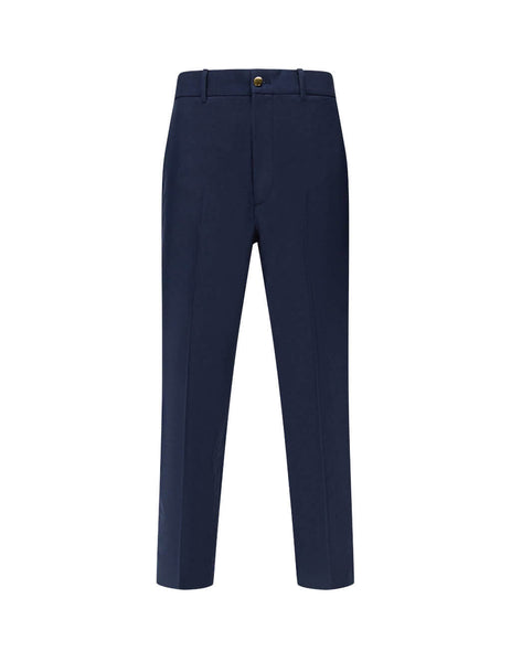 Gucci Men's Navy Straight Trousers 630426 ZAC3K 4240