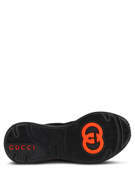 Men's Black Gucci Ultrapace Sneakers 5872410PVT01280