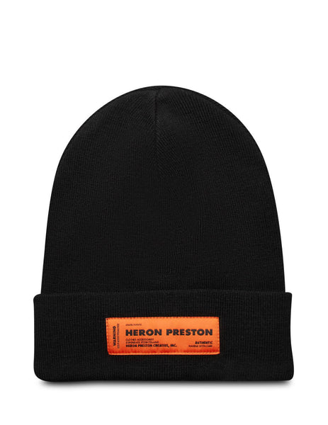 Heron Preston Men's Black Heron Beanie HMLC004F20KNI0011000