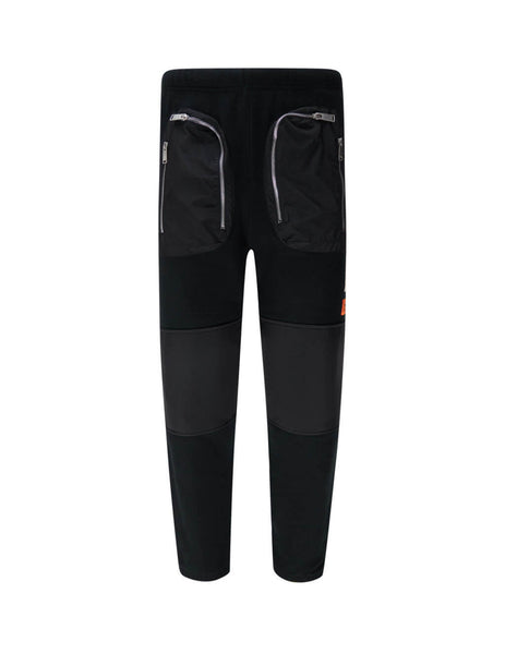 Heron Preston Men's Black Pockets Sweatpants HMCH015F20JER0011000