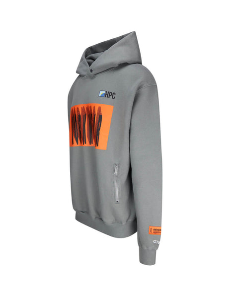 Heron Preston Men's Grey Workwear Hoodie HMBB013F20JER0020520