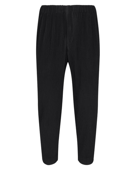 Homme Plisse Issey Miyake Black Easy Fit Trousers HP16JF108-15