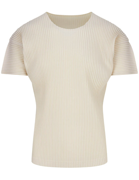 MC April Pleated T-Shirt