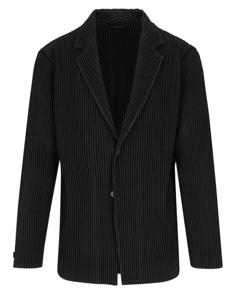 Homme Plisse Issey Miyake Single-Breasted Jacket HP16JD201-15