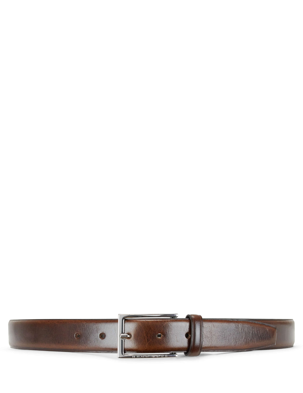 Boss Hugo Boss Smooth Leather Belt Dark Brown 50402784208 Men's Giulio Fashion