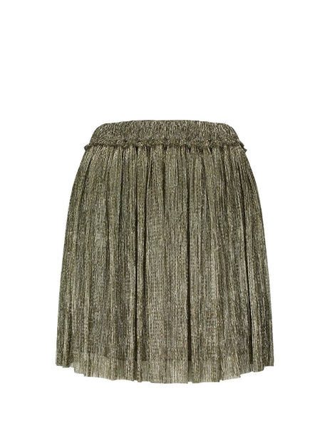Isabel Marant Étoile Women's Giulio Fashion Gold Benedicte Skirt 19AJU103719A035E12DO