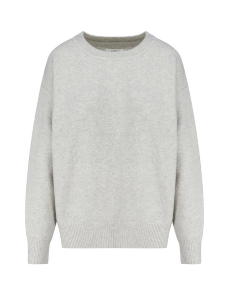 Women's Isabel Marant Etoile Dalila Jumper in Light Grey. PU141920A081E02LY