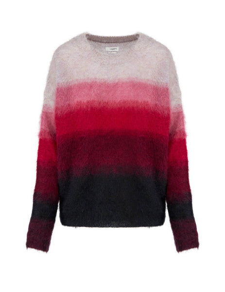 Women's Isabel Marant Etoile Drussell Jumper in Raspberry. PU124420A079E40RY