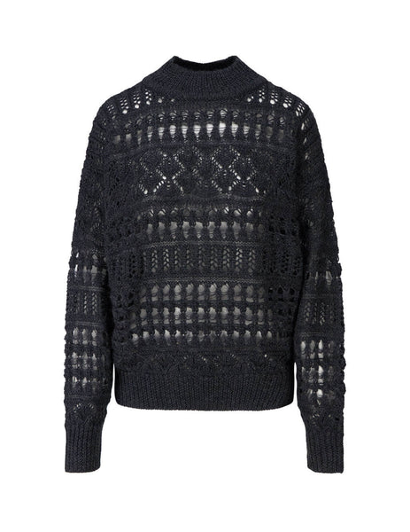 Women's Isabel Marant Etoile Pernille Jumper in Anthracite. PU134220A008E02AN