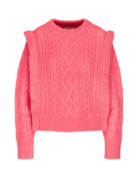 Isabel Marant Étoile Women's Giulio Fashion Pink Tayle Jumper 19APU106719A071E40CP