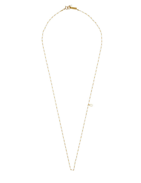 Women's Isabel Marant Casablanc Long Necklace in Ecru - SA018921P024B23EC