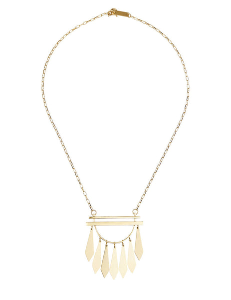 Women's Isabel Marant Dancing Necklace in Gold - CO036321P020B12DO