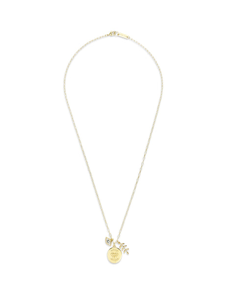 Isabel Marant Women's Giulio Fashion Gold Vedette Necklace CO028019A022B12DO