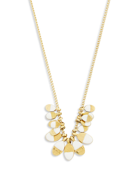 Isabel Marant Women's Giulio Fashion Gold New Leaves Necklace CO023519A018B23EC