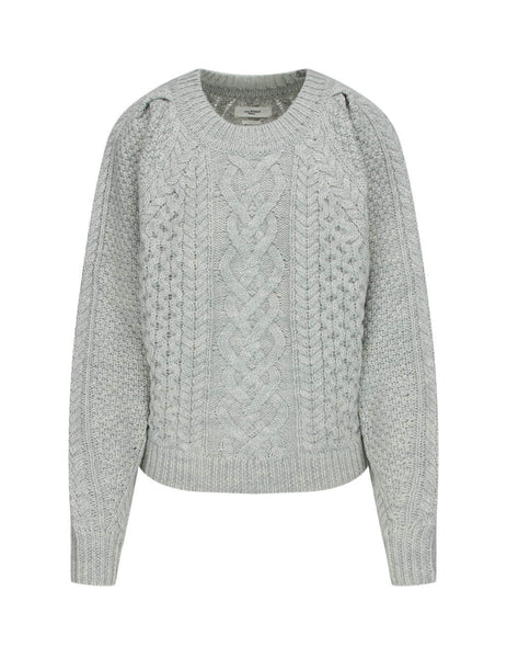 Isabel Marant Étoile Grey Romy Knitted Jumper PU134320A009E02GY
