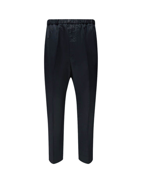 Jil Sander Men's Giulio Fashion Black Tech Sports Trousers JSMR311818-MR243800 001