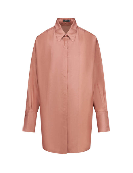 Women's Dusty Rose JOSEPH Dawson-Silk Habotai Shirt JF004042_0660