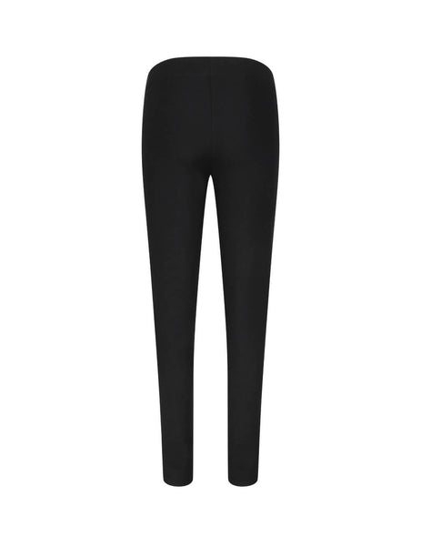 JOSEPH Women's Giulio Fashion Black Gabardine Stretch Leggings JP000049_0010