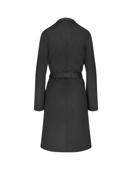 JOSEPH Women's Giulio Fashion Black Lima Cashmere Coat JF0034100010