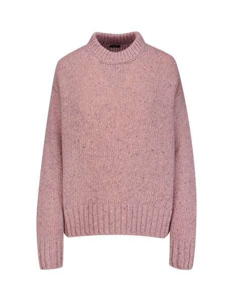JOSEPH Women's Pink Speckled Wool Knit JF0033420840