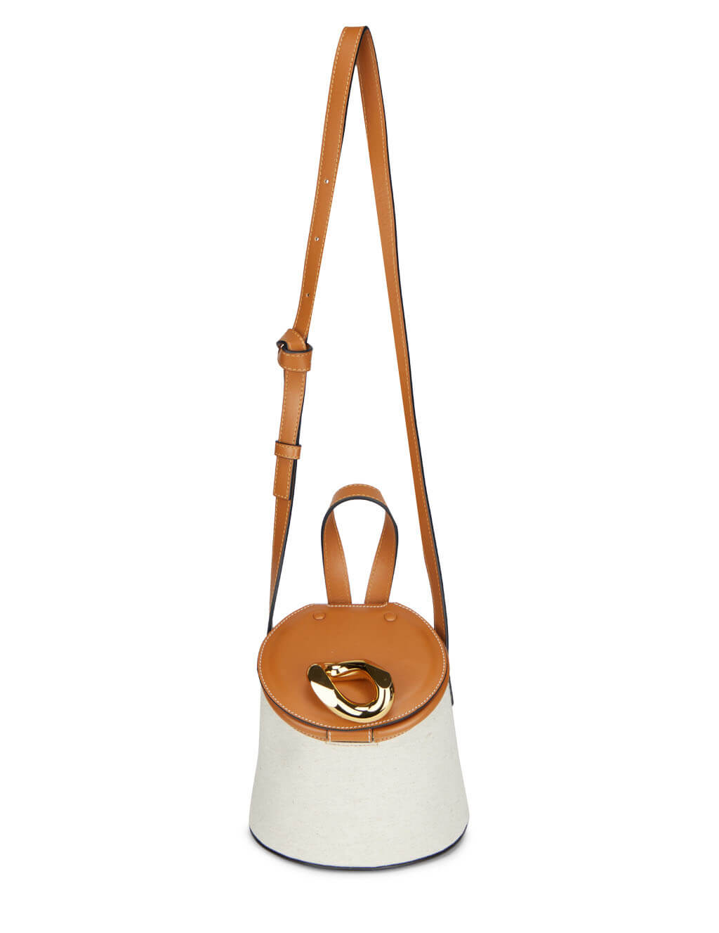 Women's JW Anderson Lid Bucket Bag in Calico - HB0318FA0038110