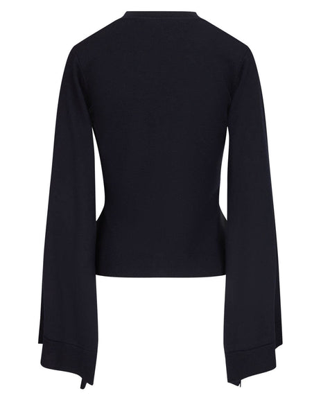JW Anderson Women's Navy Wings Cardigan KT0008 YN0008 888