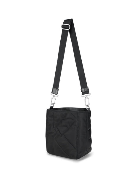 Women's Black KENZO Kube Small Nylon Tote Bag FA62SA901F06.99