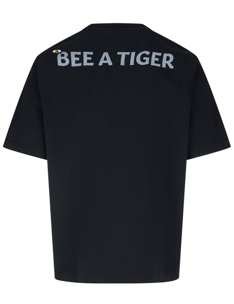 Men's KENZO Bee A Tiger T-Shirt in Black - FB55TS0844SB99