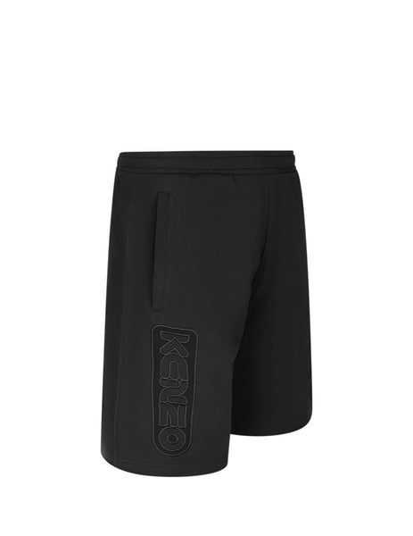 KENZO Men's Giulio Fashion Black Bermuda Shorts FA55PA7304MC.99