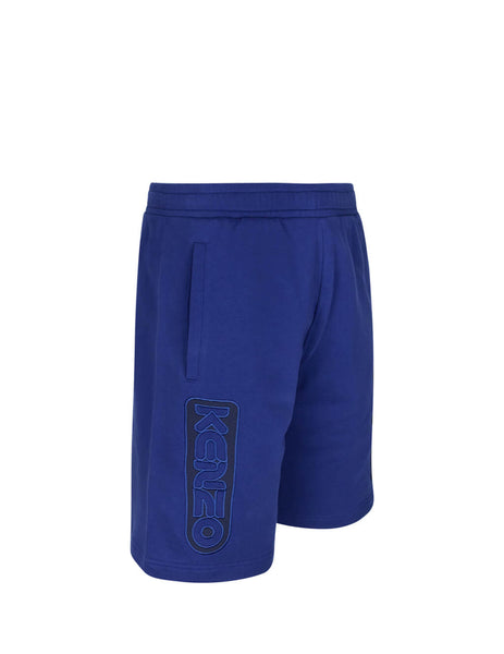 KENZO Men's Giulio Fashion Navy Bermuda Shorts FA55PA7304MC.76