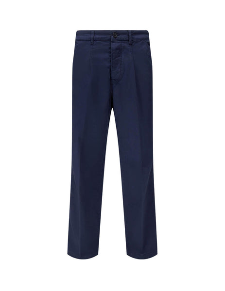 KENZO Men's Giulio Fashion Navy Chino Trousers FA65PA2551TA.77