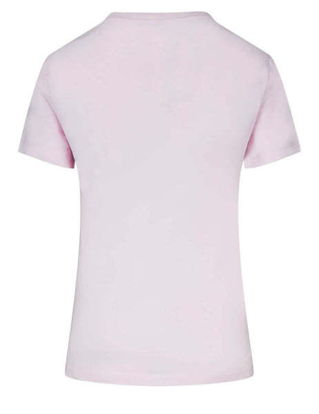 Women's KENZO Classic Tiger T-Shirt in Faded Pink - FB52TS8464YB34