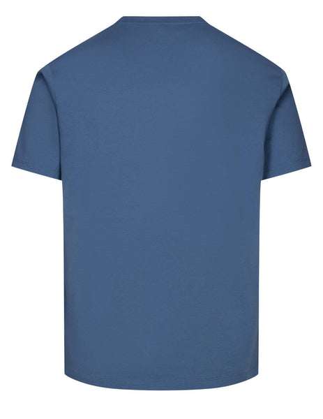 Men's KENZO Gradient Tiger T-Shirt in Blue - FB55TS0264YG67