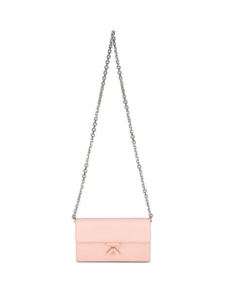 KENZO Women's Faded Pink K Wallet on a Chain FA62PM318L24.34
