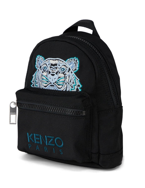 Men's KENZO Kampus Tiger Backpack in Black. FA65SF301F20.99E