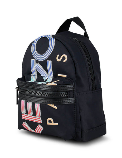 Men's KENZO Mini Logo Backpack in Black FA55SF215F26.99
